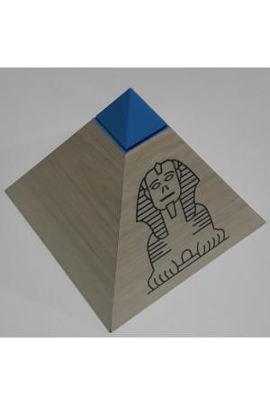 Ahşap Piramit Kumbara